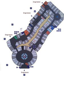 Mappa Noventa di Piave Designer Outlet
