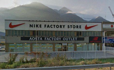 Spaccio Nike Aosta
