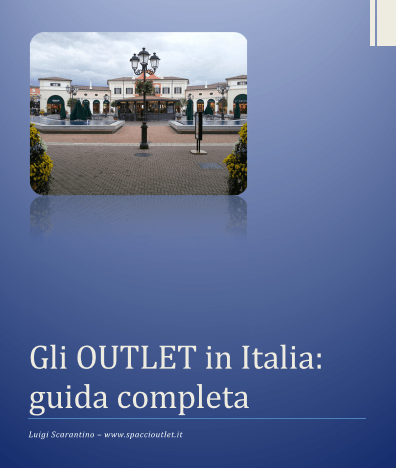 Gli outlet in italia guida completa for Casalinghi milano outlet